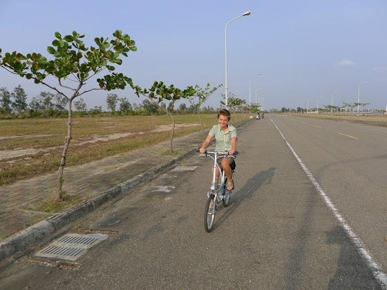 Odpolední výlet na kole.