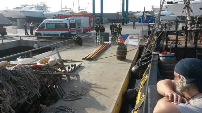 Cvičení hasičů a záchranářů