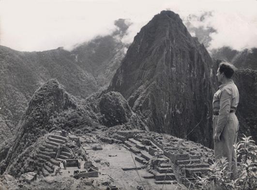 Ingriš na Machu Picchu
