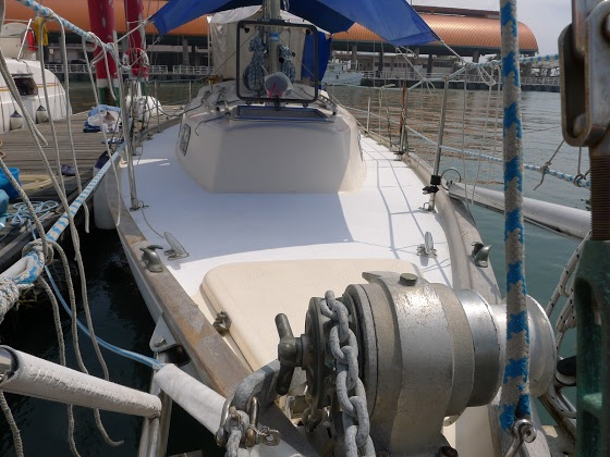 Takovou barvu bude mít celá naše loď