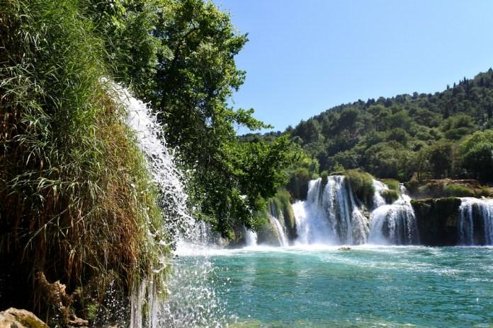 Krka vodopády