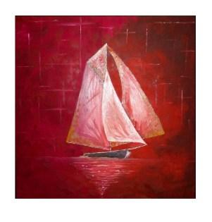 olej na plátně na rámu, 50x50cm