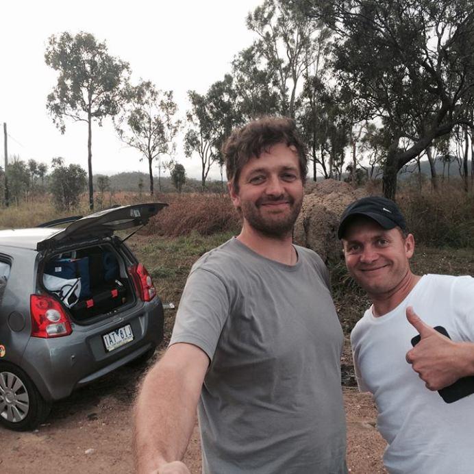 Martin a Patrik na cestě do Cooktownu. Keep left!