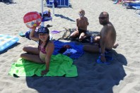 Válení na pláži
