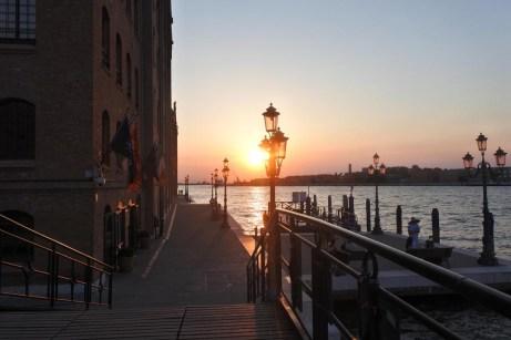 Západ slunce v Benátkách 1