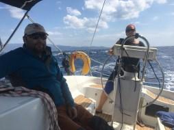 Plavba na zadoboční vítr