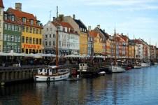 Povinná fotka z Nyhavnu v Kodani