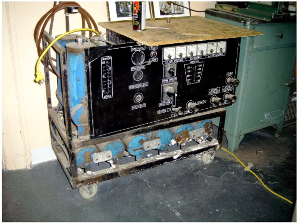browns gas generator old
