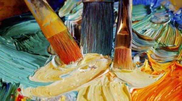 Teknik pencampuran cat minyak