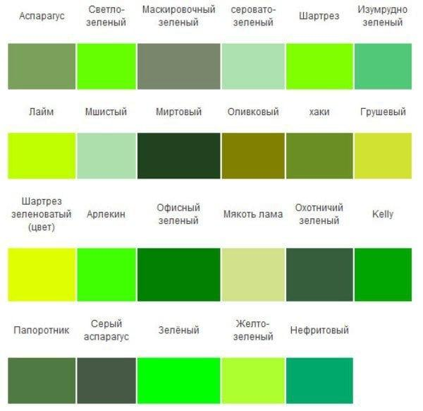سایه های سبز