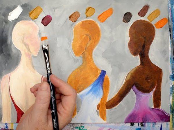 Selezione di un picco per varie tonalità della pelle
