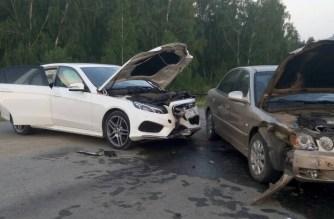 Машины разбиты основательно
