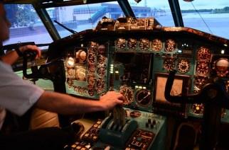 Авиасимулятор ТУ-154: тангаж, глиссада и закрылки