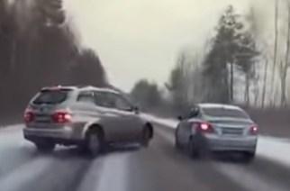 Зимние аварии: три свежих примера