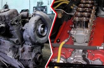 Кто круче: советский дизель В-2 или первый V12 Ferrari