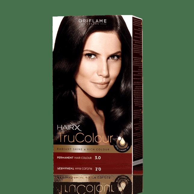 Стойкая краска для волос «Цвет-Эксперт» Темно-коричневый