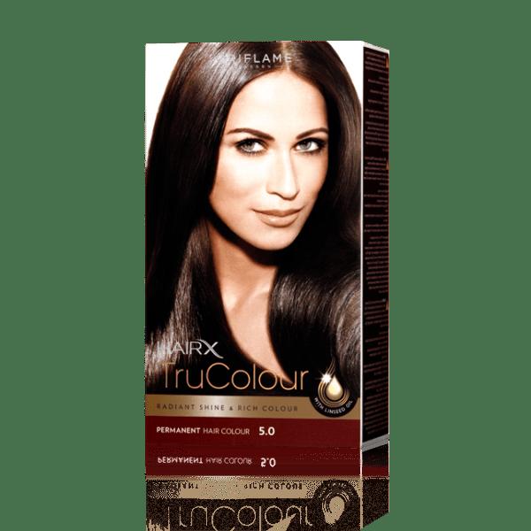 Стойкая краска для волос «Цвет-Эксперт» Коричневый