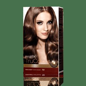 Стойкая краска для волос «Цвет-Эксперт» Темно-русый