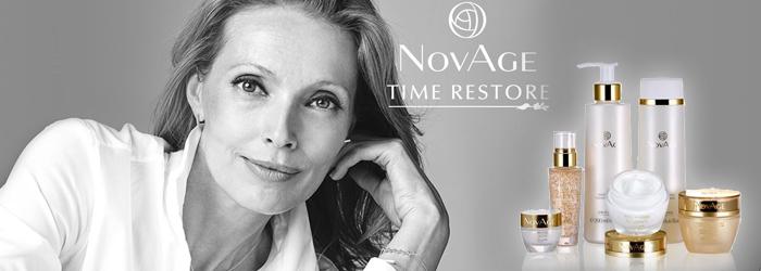 Заметное омоложение и улучшение состояния зрелой кожи лица после 50 лет NovAge Time Restore