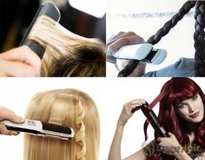 চুল সোজা সঙ্গে hairstyles