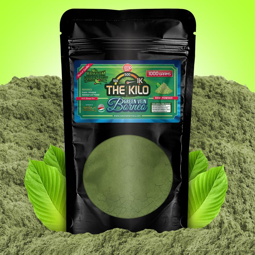 Green Borneo - 1000 Gram Powder