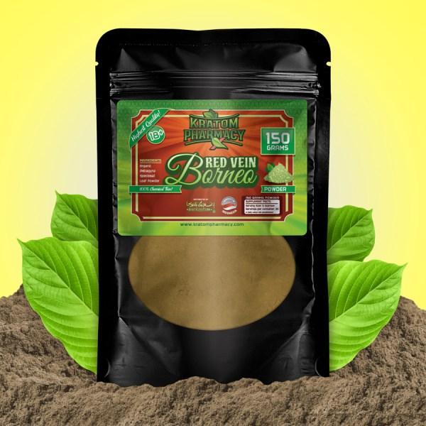 Red Borneo - 150 gram powder