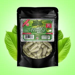 White Maeng Da capsules - 30 count