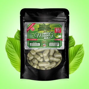 White Maeng Da capsules - 65 count