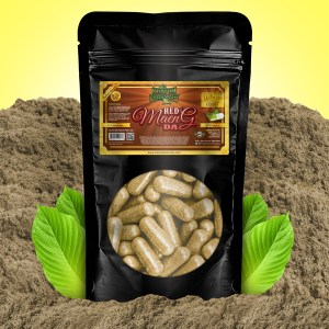 Kratom Pharmacy | Red Maeng Da - 1500 Capsules