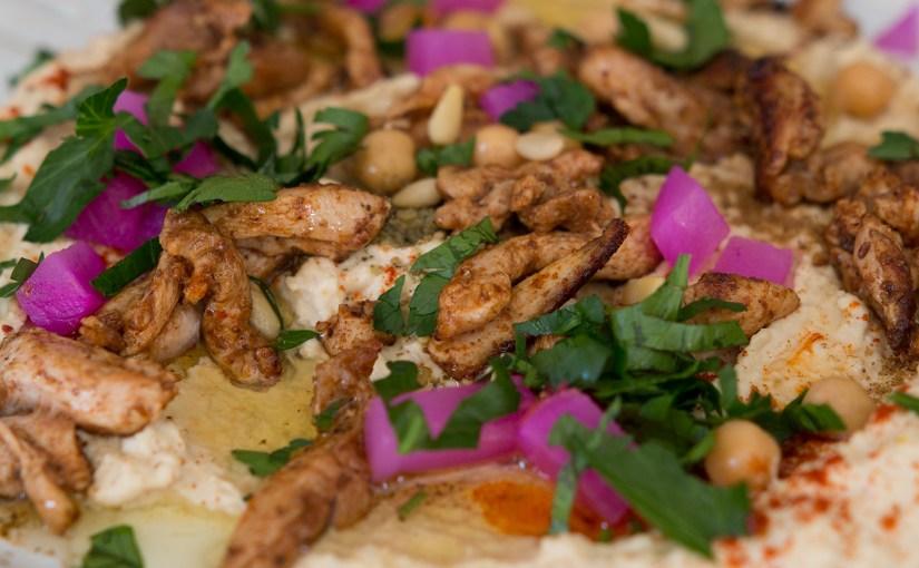 Chicken Shawarma Hummus