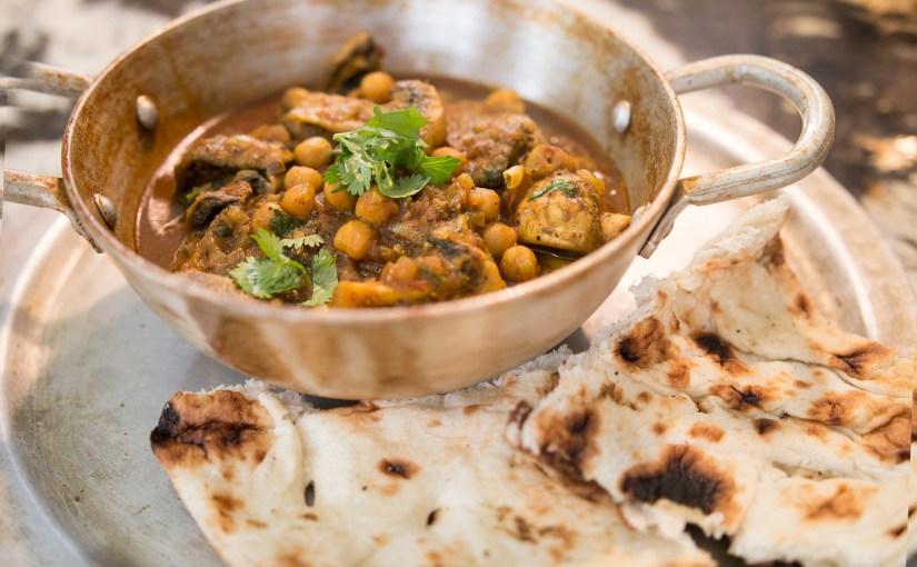 Mushroom and Chickpea Curry – Dhingri Chole