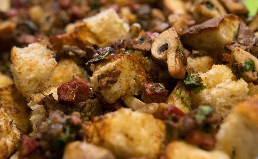 Chicken Liver & Mushroom Stuffing