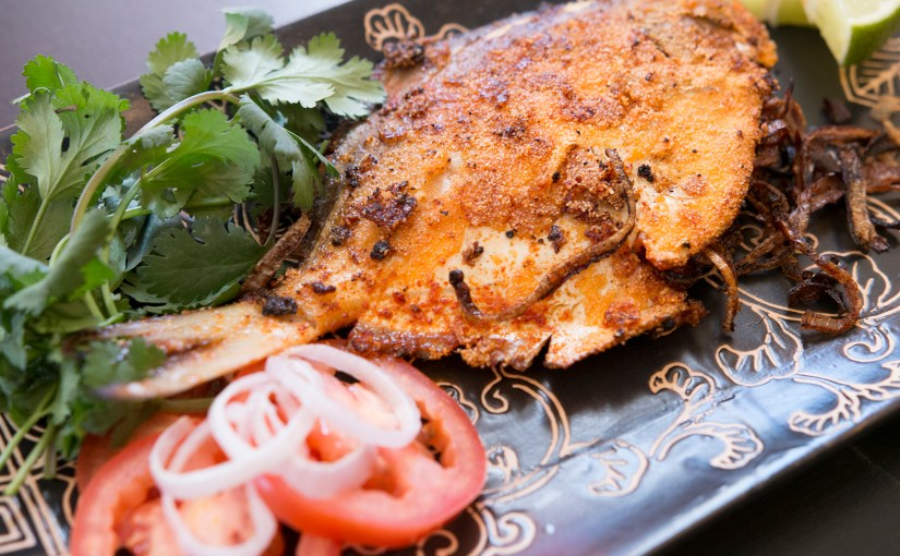 Pomfret Rechead – Stuffed Fish