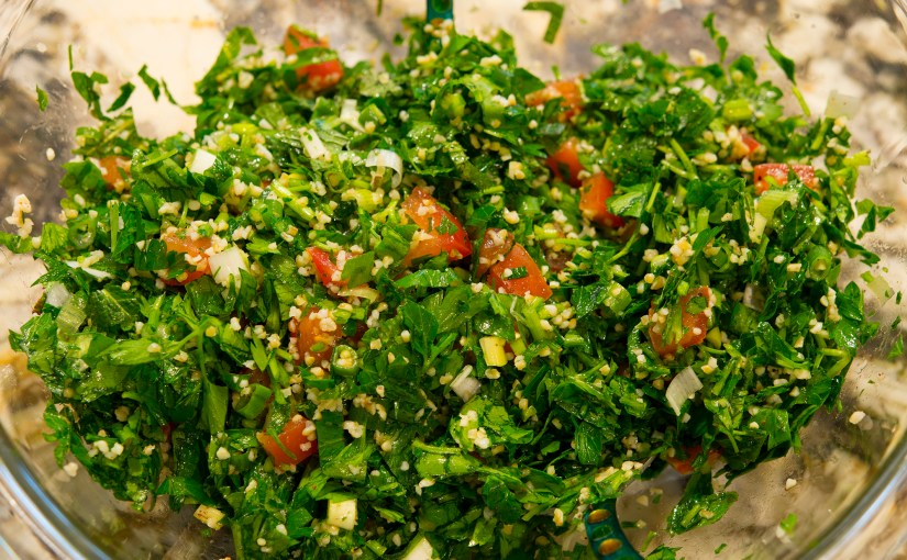 Easy to make Tabouleh – Parsley & Mint Salad