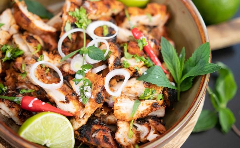 Thai Red Curry BBQ Chicken