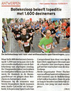 Het Laatste Nieuws 12 09 2011