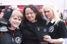 Een trio EKMA dames