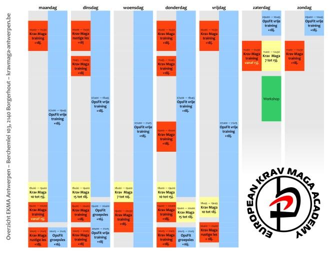 Lesplanning vanaf september 2015
