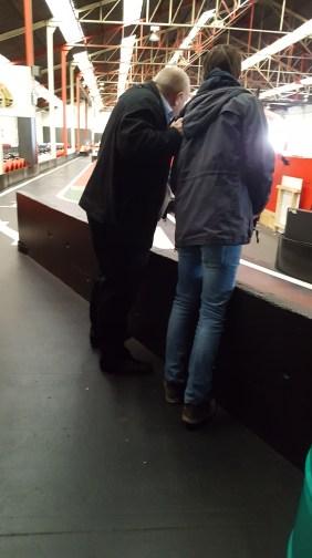 Luc Van Laere speelt moeilijke en agressieve klant tijdens workshop