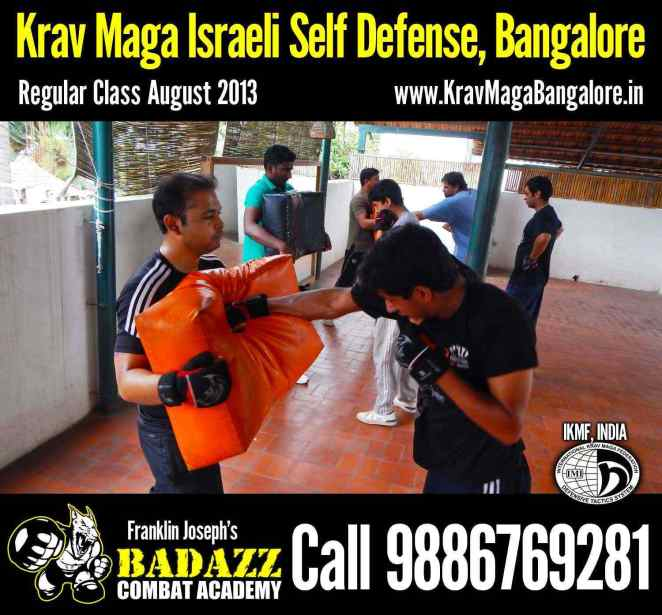 Spet 28th Krav Maga Israeli Self Defense Classes in Bangalore