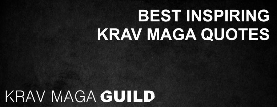 Best inspiring Krav Maga quotes