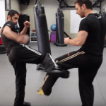 Learn the round kick defense that broke Silva's leg