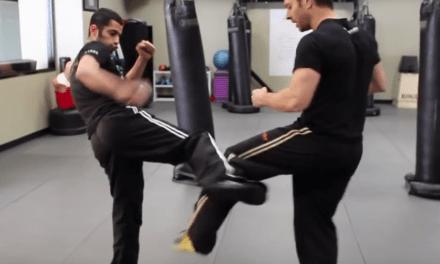 Learn the round kick defense that broke Silva's leg