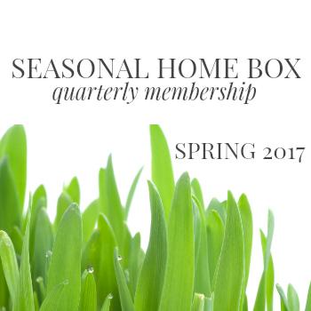 seasonal home box quarterly membership #kraylfunch spring 2017 350x