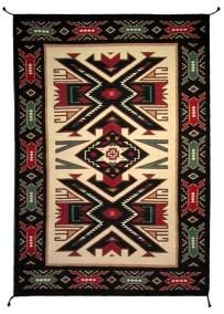 Southwest-Handwoven-Wool-Rug