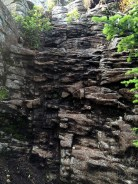 The 'cliff' I climbed down instead of avoiding.