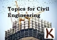Presentation Topics for Civil Engineering