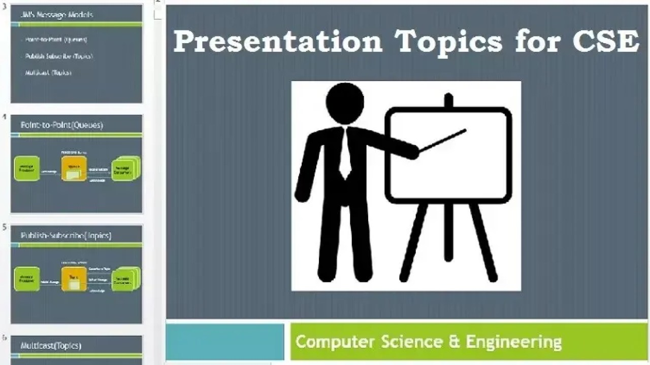 Paper Presentation Topics for Computer Science Engineering - Krazytech