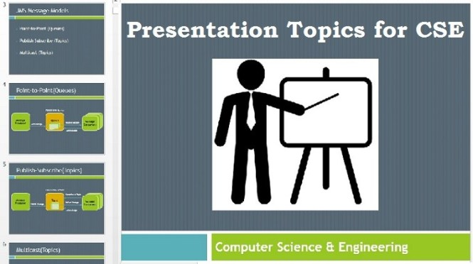 Paper Presentation Topics for Computer Science Engineering