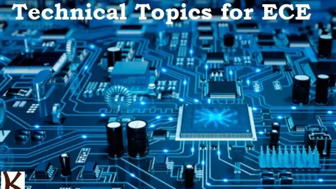 Technical Paper Presentation topics for Electronics Engineering